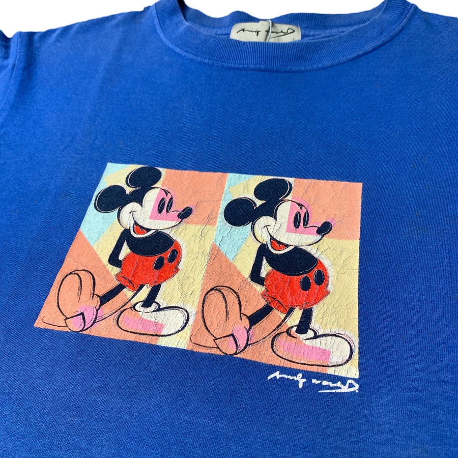 90's Andy Warhol Mickey Mouse T-Shirt