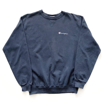 90s Champion Navy Sweatshirt