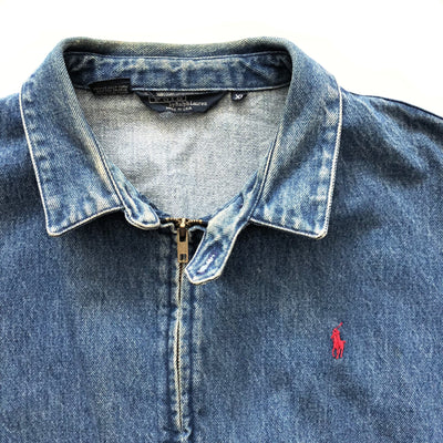 90s Ralph Lauren Denim Harrington Jacket