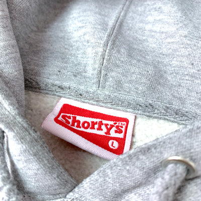 90's Shorty's Skateboards 'S' Sleeve Hoodie