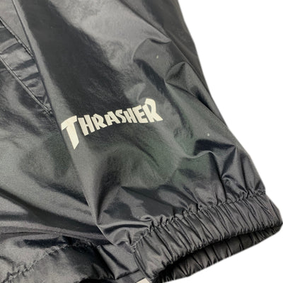 90s Thrasher Bomb Squad Nylon Windbreaker
