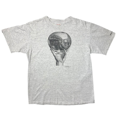 1990 M.C. Escher Mirrorball T-Shirt