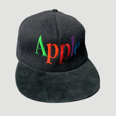 80's Apple Spell Out Strapback Cap