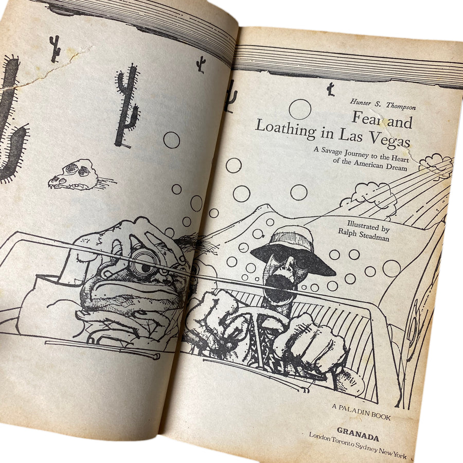 1981 Hunter S. Thompson 'Fear and Loathing in Las Vegas'