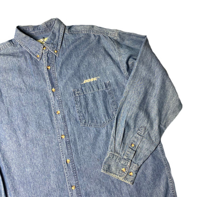 Mid 90's Bose Denim Chambray Work Shirt