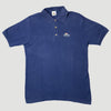 80's Fruit Of The Loom Basic Navy Polo Shirt