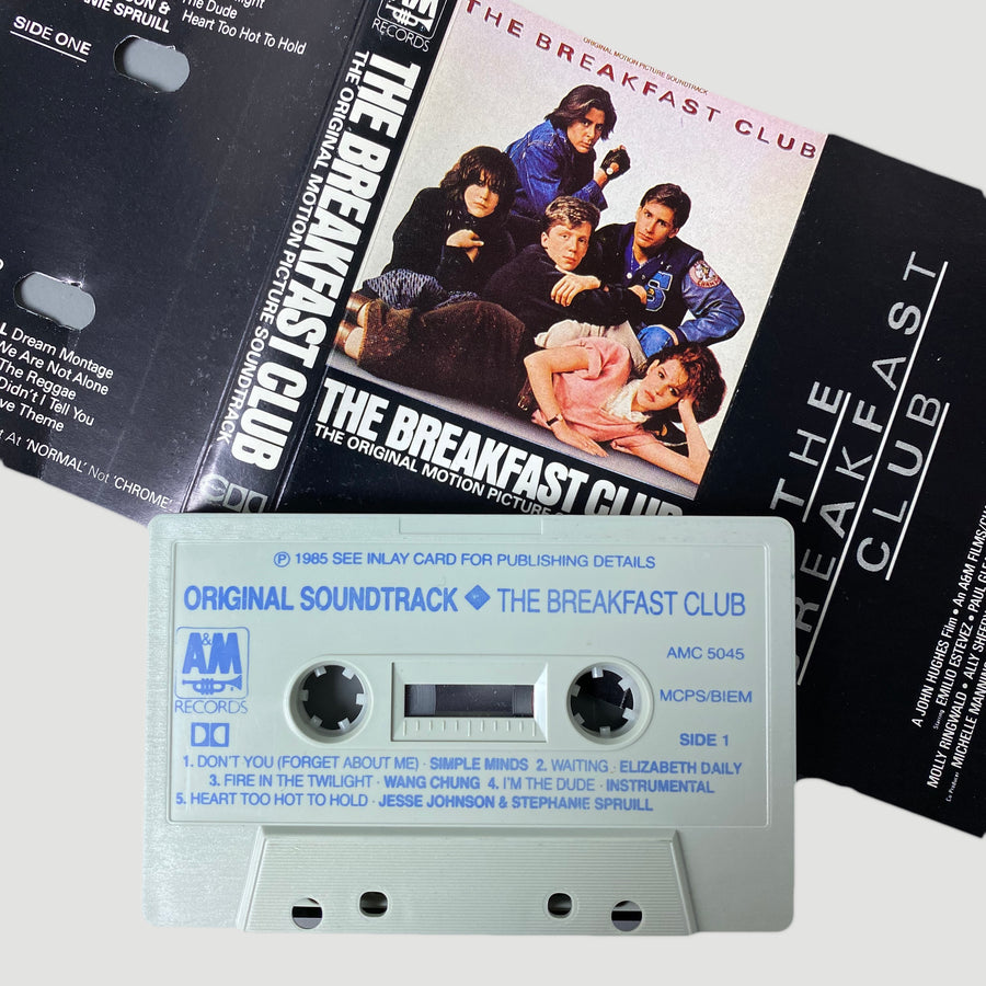 1985 The Breakfast Club Original Soundtrack Cassette