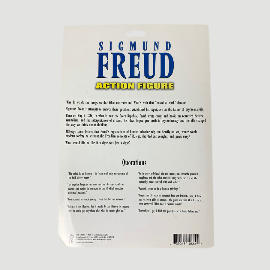 Early 00's Sigmund Freud Action Toy