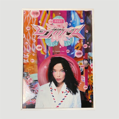 1995 Bjork 'Post' Framed Poster