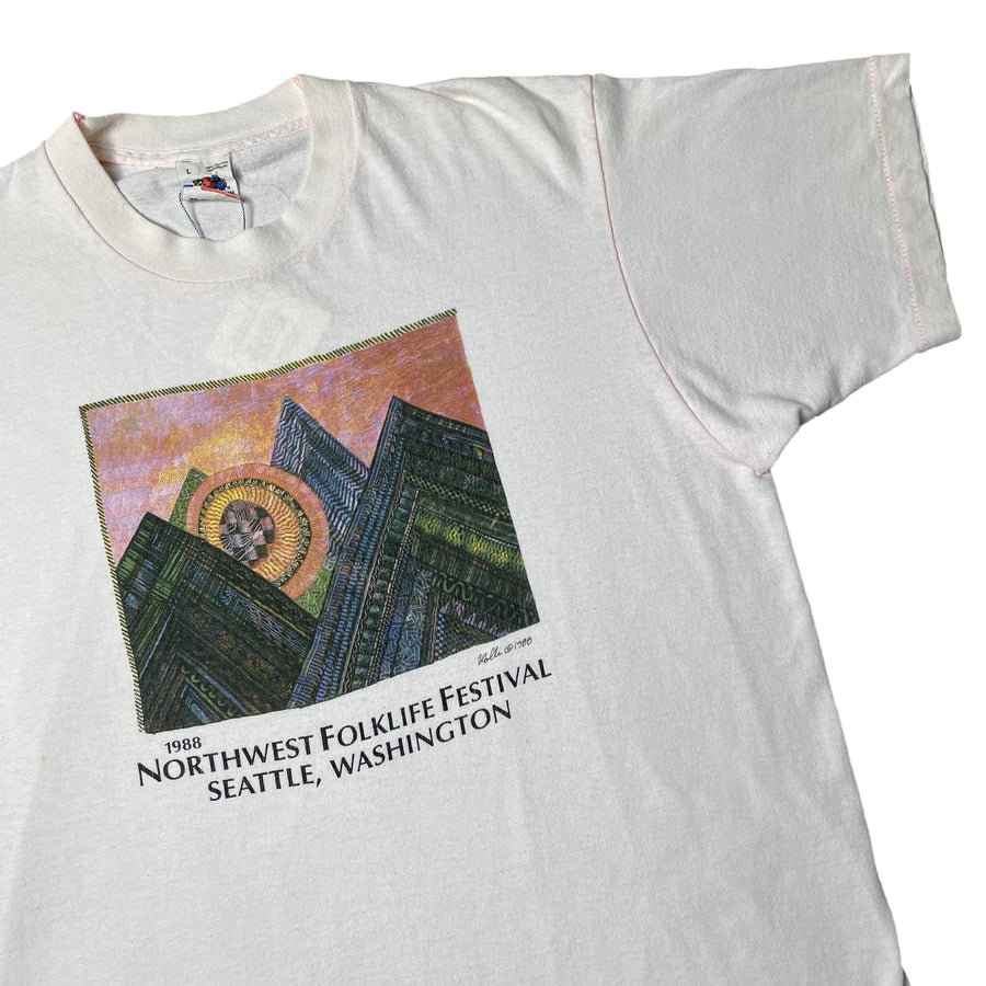 1988 Northwest Folklife Festival T-Shirt