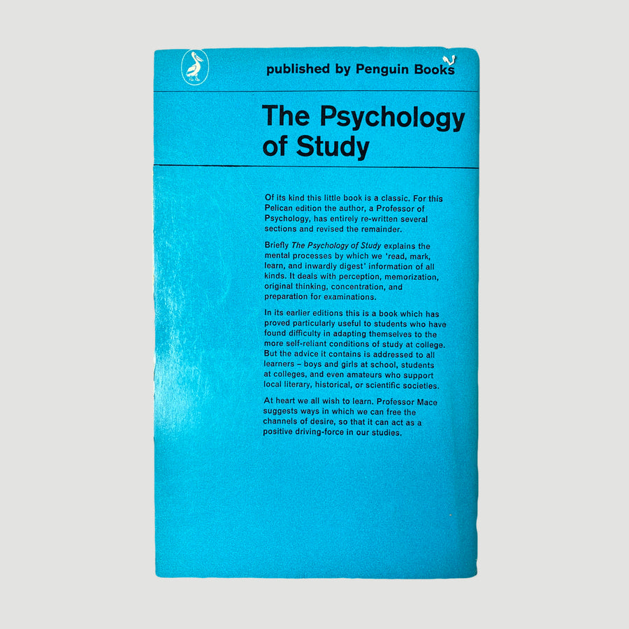 1983 The Psychology of Study Pelican Book
