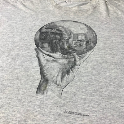1991 M.C. Escher Mirrorball T-Shirt