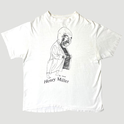 Early 90's Henry Miller Largely Literary T-Shirt