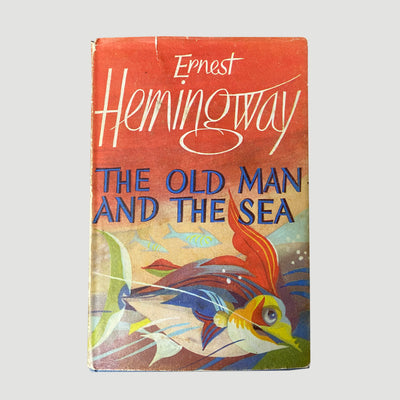 1966 Ernest Hemingway 'The Old Man and the Sea'