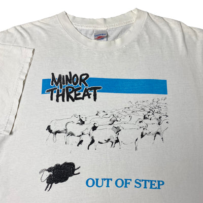 Early 00's Minor Threat 'Out of Step' T-Shirt