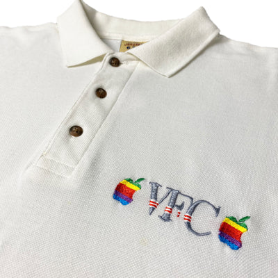 Mid 90's Apple VFC Logo Polo Shirt