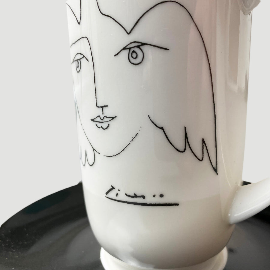 2007 Picasso Coffee Cup & Saucer