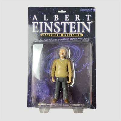 Early 00's Albert Einstein Action Toy