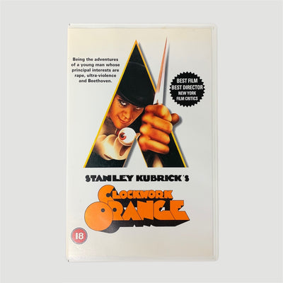 2000 Clockwork Orange VHS