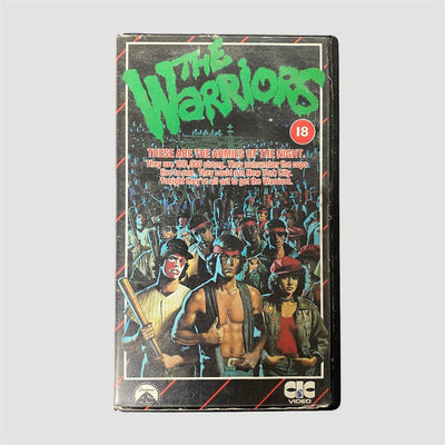 80's The Warriors VHS