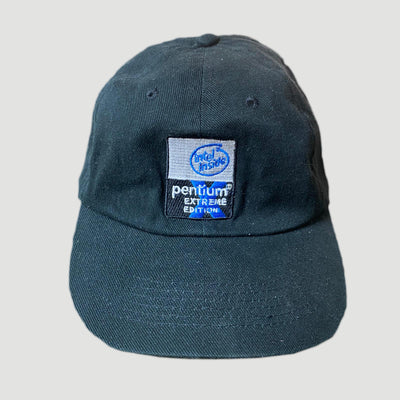 Early 00's Intel Strapback Cap