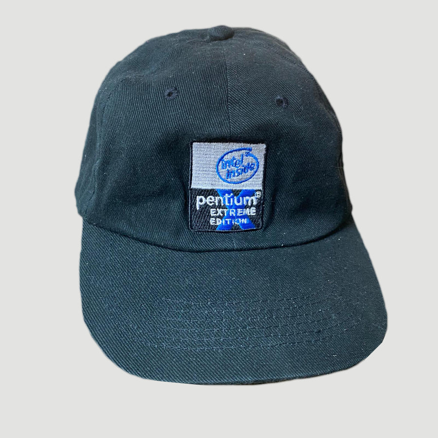 Early 00's Intel Velcroback Cap