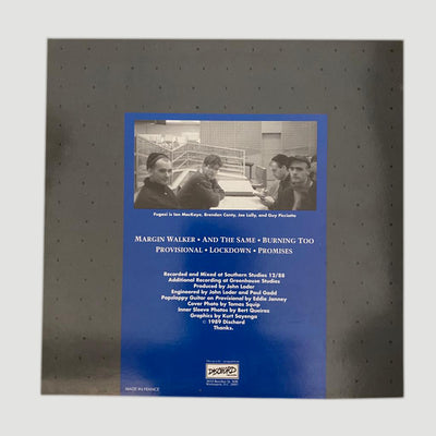 1989 Fugazi 'Margin Walker' EP - First Pressing