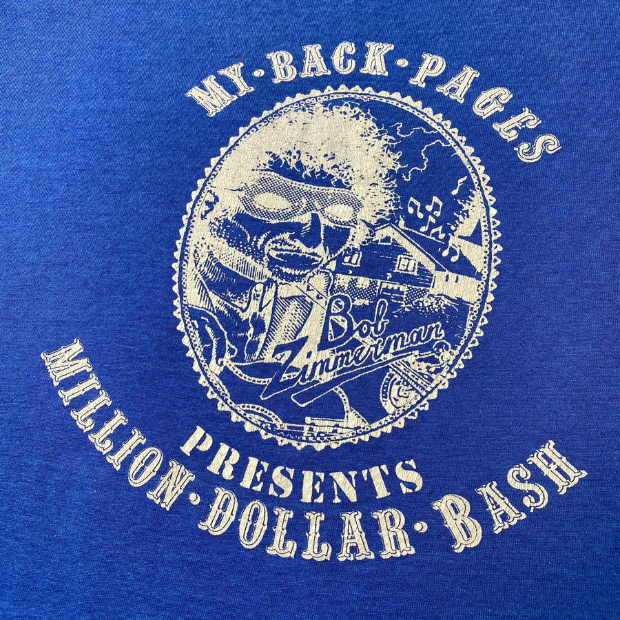 1988 Bob Dylan 'Million Dollar Bash' Convention T-Shirt