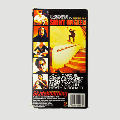 2001 Transworld Skateboarding 'Sight Unseen' VHS