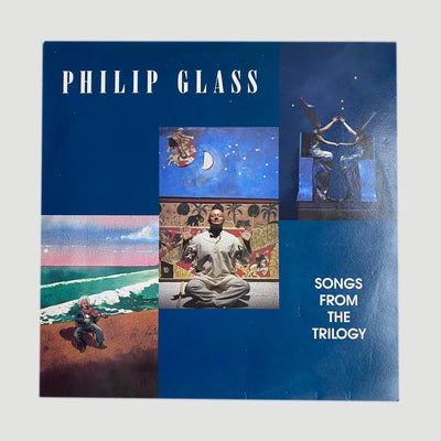 1989 Philip Glass ‎'Songs From The Trilogy' LP