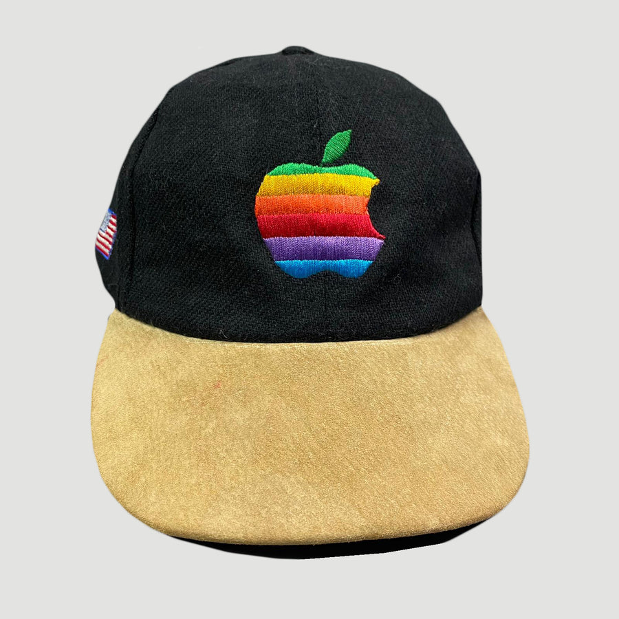 Late 80's Rainbow Apple Strapback Cap