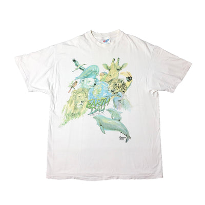 Early 90's Wildlife Earth day T-Shirt