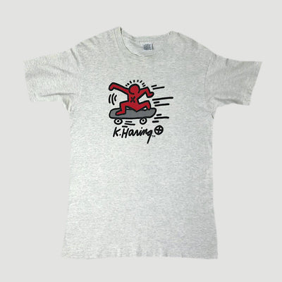 90's Keith Haring Skateboarder T-Shirt