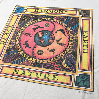 1994 Peace Harmony Earth Nature T-Shirt