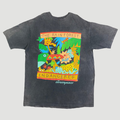 1988 Greenpeace 'Rainforest' T-Shirt