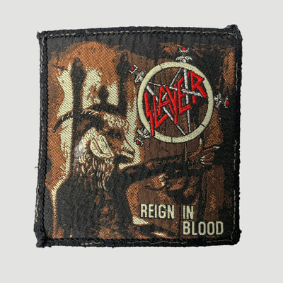 Late 80's Slayer 'Reign In Blood' Patch