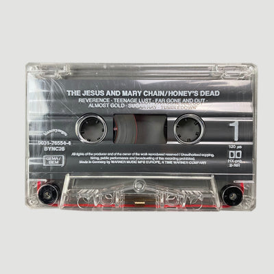 1992 The Jesus And Mary Chain ‎'Honey's Dead' Cassette