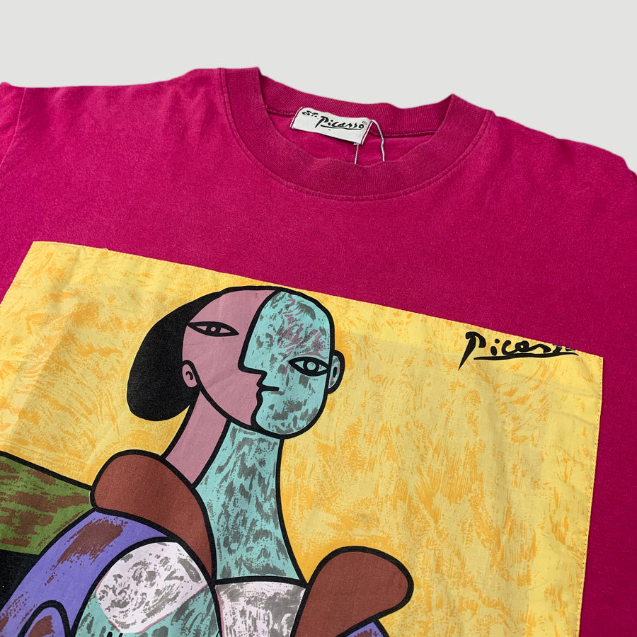Late 90's Picasso 'Woman in Chair' T-Shirt