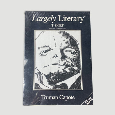 Boxed Early 90's Truman Capote Largely Literary T-Shirt