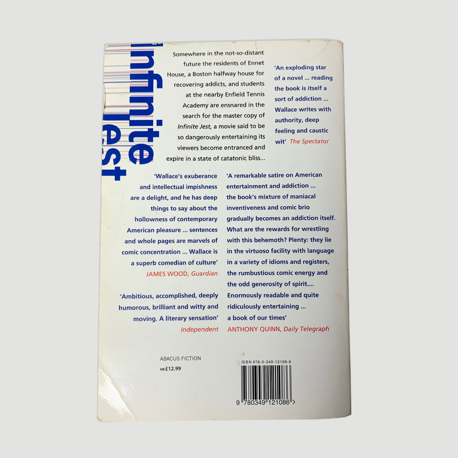 2011 David Foster Wallace 'Infinite Jest' Paperback