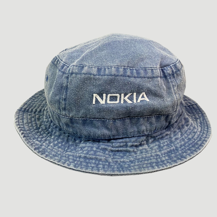 Late 90's Nokia Denim Bucket Hat