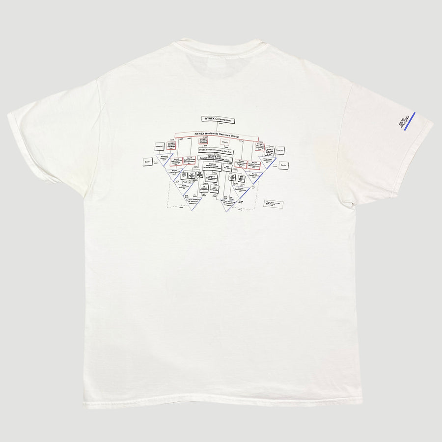 Early 90's Cable & Wireless Communications T-Shirt