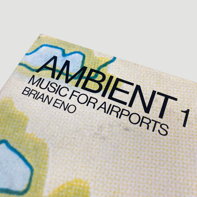 1979 Brian Eno 'Ambient 1 (Music For Airports)' LP