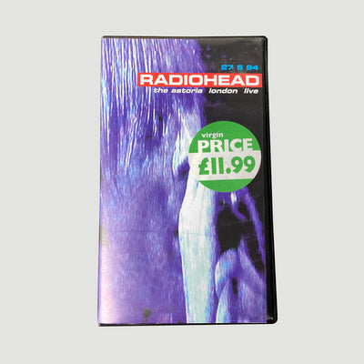 1995 Radiohead 'Live at the Astoria' VHS