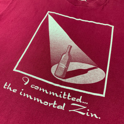 Early 90's 'Immortal Zin' T-Shirt