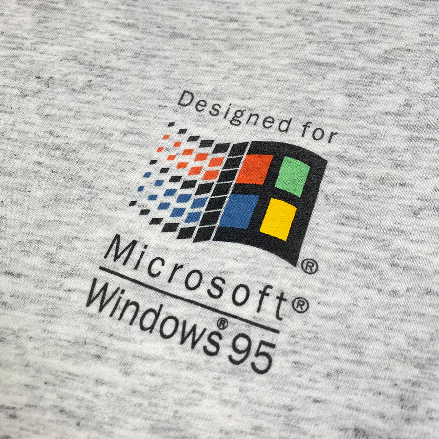 1995 Microsoft Windows 95 Long Sleeve T-Shirt