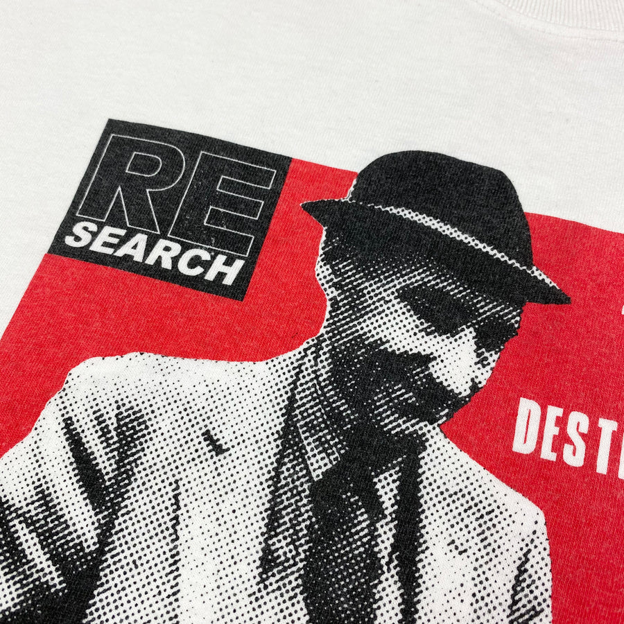 Early 00's Re/Search William Burroughs T-Shirt