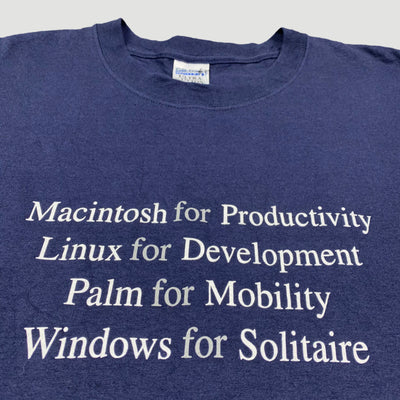 Late 90's 'Macintosh for Productivity' T-Shirt