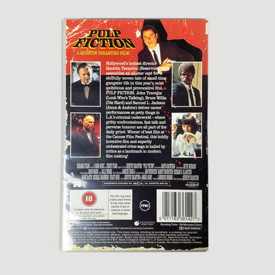 1995 Pulp Fuction Ex-Rental VHS