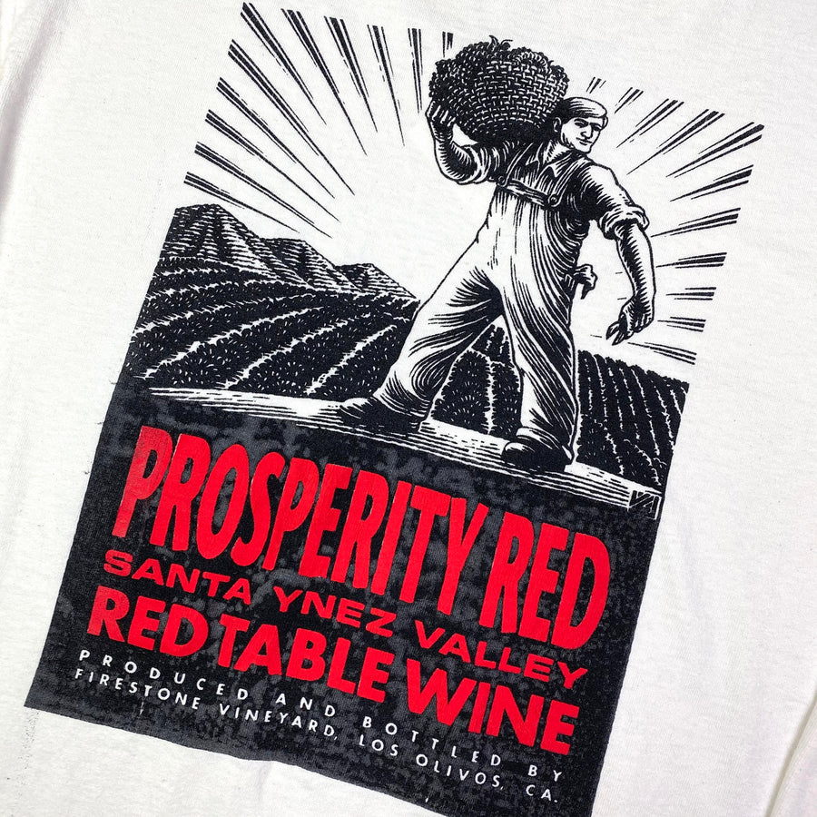Early 90's Prosperity Red Wine Long Sleeve T-Shirt